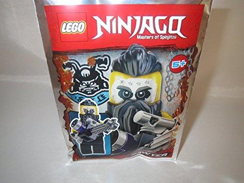 Blue Ocean Lego Ninjago Figura Sawyer con sierra de cadena–Limited Edition–891835–Bolsa de