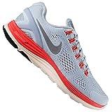 NIKE LUNARGLIDE+ 4 SHIELD LAUFSCHUH FREIZEIT SNEAKER RUNNING SCHUHE GRAU 43/44,5, Schuhgröße:EUR 44 1/2;Farbe:Hellblau