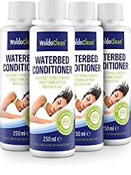 Waterbed Conditioner for Hardside or Softside - 4X 250ml Water Beds Protection Extend The Life of The Vinyl and Fiber Inside