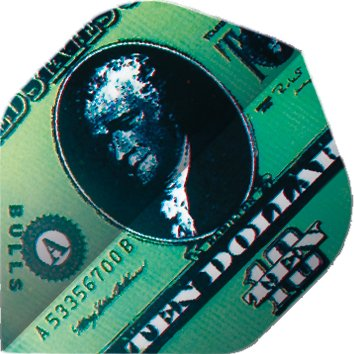 Unbekannt BULL'S Motex Dart Flights A-Standard 75 Micron USA Amerika Dollar - Dollar-standard