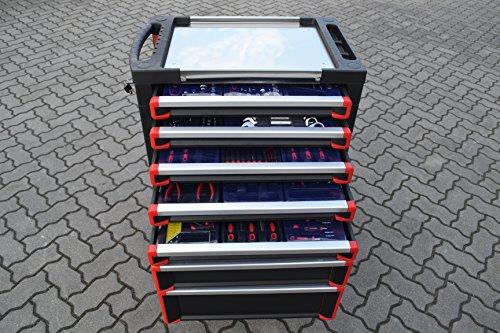 Werkzeugwagen mit ca. 400-teiligem Qualitäts-Werkzeugsortiment