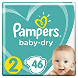 Pampers Baby Dry Windeln, Gr. 2 (3-6 kg), 1er Pack (1 x...