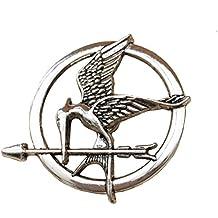 Hunger Games. Mockingjay Broche de acabado plateado