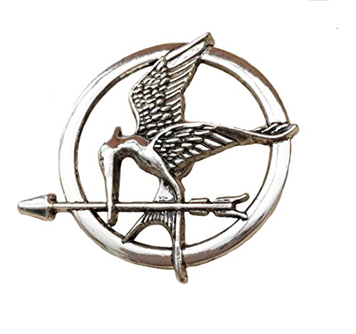 er Games Katniss Mockingjay Siber ton Brosche/Pin ()