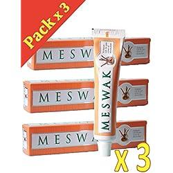 Kérala - Dentifrice - Ayurvédique - Meswak - Dents et Gencives Saines - Lot de 3 x 100 G