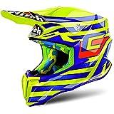 Airoh, casco Twist Cairoli Qatar, taglia L, di colore giallo.