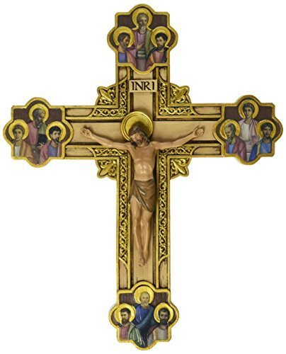 Renaissance Collection Joseph's Studio by Roman Exclusive Wall Cross, Depicts Jesus Framed in Gold...