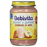 Bebivita Frucht + Joghurt Erdbeere in Apfel, 190 g