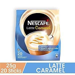 Nescafe Latte Caramel, 500gm - Pack of 20
