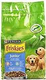 Friskies Vitafit Junior Crocchette per il Cane, con Pollo e l'Aggiunta di Latte e Verdure, 1.5 kg