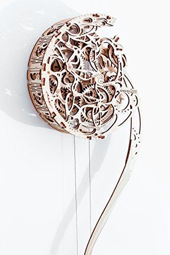 3D-Holzfunktionsbausätze Pendulum Clock by WOODEN.CITY | 3D-Puzzle