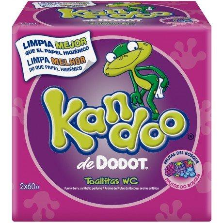 Dodot Kandoo Feuchtigkeitstücher, Waldfrüchte - 120 Stück (Kandoo Feuchttücher)