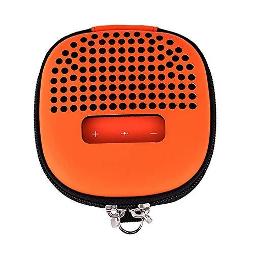 TOOGOO Reisen Tragen Reisen Rei?Verschluss Hülle Tragbarer Schutz Hard GEH?use Bose Soundlink Mikro Lautsprecher, Jederzeit Spielen - Orange