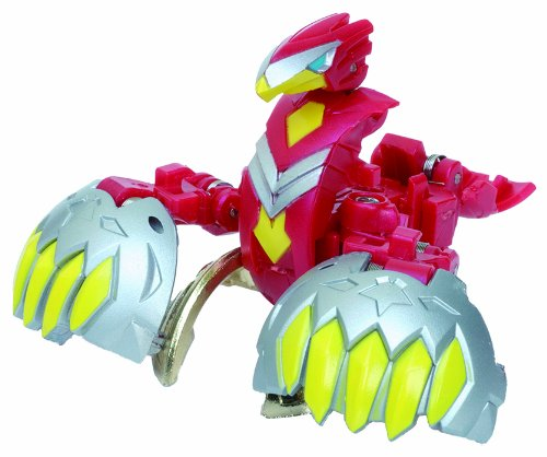 Bakugan BTC-74 Baku-Tech Booster Pack Red Ventus Tri Falco Japan Import by Sega by Sega