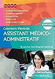 Assistant médico-administratif-Branche Secrétariat médical...