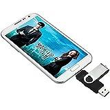 daorier 8GB/16GB/32GB/64GB Dual USB Unidad flash USB 2.0OTG Dual Transfer Memory Stick 2en 1Memoria stick Flash Drive para PC Tablet Andriod Samsung GALAXY S7Huawei