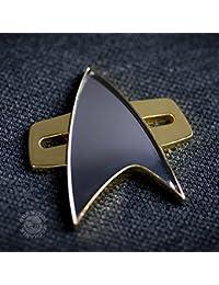 Qmx Star Trek Insignia, Color Dorado, Estándar (Quantum Mechanix Inc. STR-0049)