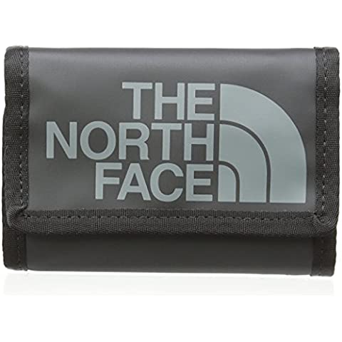 The North Face Base Camp Wallet - Cartera-monedero , color negro, talla única