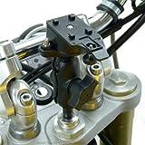 Moto / moto 20.5-24.5mm Potence Fourche Mont De Fourche pour TiGRA BikeCONSOLE Etuis TéléPhone / Support