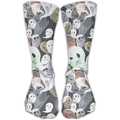 ings Cute Halloween Ghost Casual Crew Sports Socken ()