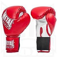 Metal Boxe PB480 - Guantes de boxeo, color rojo - rojo, tamaño 10 onzas