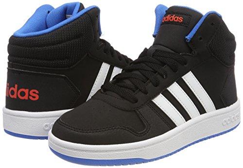 adidas Unisex-Kinder Vs Hoops Mid 2.0 Gymnastikschuhe, Mehrfarbig (Core  Black/Ftwr White/Bright Blue) ...