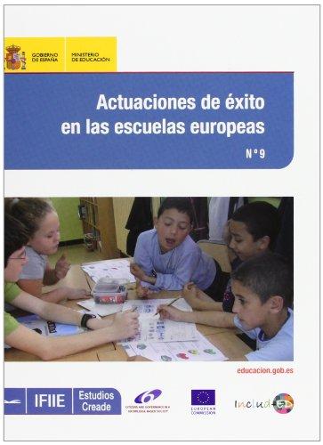 Actuaciones de éxito en las escuelas europeas (Estudios Creade)