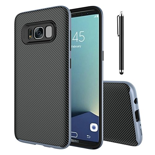 Obamono Samsung Galaxy S Lite Luxury Edition Samsung Galaxy S8 Case Portable Cell Phone Protector, Ultra Thin Cover with Anti-Skid Back, Protects Scratch-Resistant & Drop-Resistant for Samsung Cell Samsung Ultra Edition