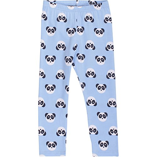 Fred's World by Green Cotton Baby-Jungen Panda Leggings Blau (Blue 015392001), 74