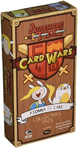 Adventure Time Card Wars Collector's Pack 6 - Fionna vs Cake English (Card Wars-karte-spiel)