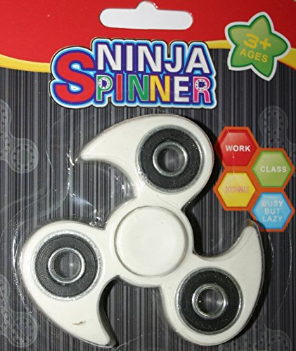 Preisvergleich Produktbild Ninja Spinner Tri-Spinner Fidget Spielzeug Hand Spinner Stress Super Fast Qualität Keramik Lager