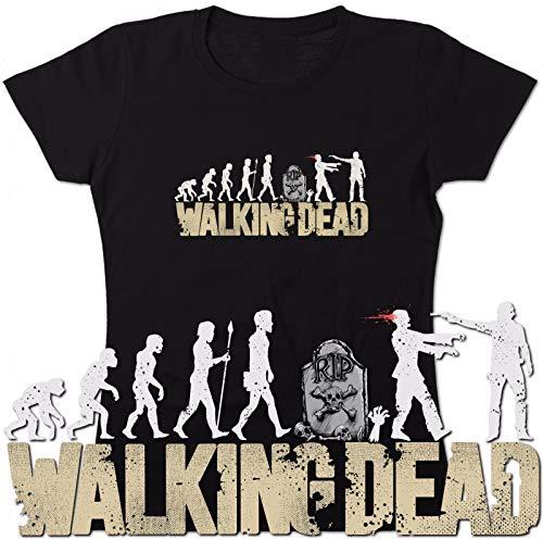 TYML Mode Heißer Walking Dead Evolution Rick Dixon Walker Nerd Spaß T Hemd
