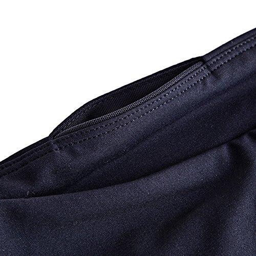 Sunny&Baby Pantaloni sportivi da donna alla caviglia Pantaloni di seta Traspirante Leggings da allenamento Elastico attillato per donna Confortevole ( Color : Black , Size : L ) Black