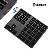 ikos Bluetooth pavé numérique 34-Keys Bluetooth Keypad,Black