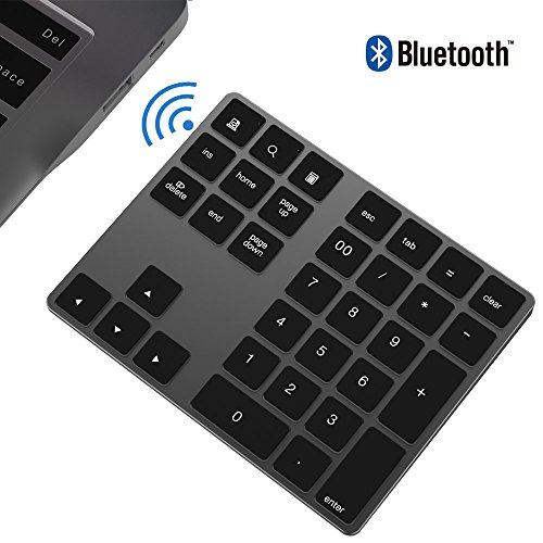 Teclado numérico Bluetooth