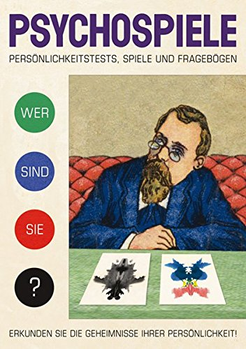 Psychospiele: Persönlichkeitstests, Spiele, Fragebögen par Julian Rothenstein