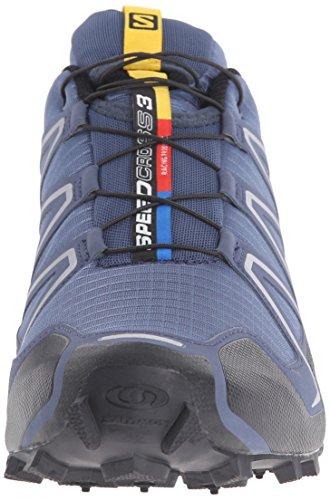SalomonSpeedcross 3 - Scarpe Running uomo Azul (Slateblue / Black / Deep Blue)