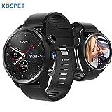 Kospet Hope 4G LTE Smartwatch 3GB + 32GB 8.0MP Fotocamera Android 7.1 GPS/GLONASS Orologio sportivo compatibile con Android e ios