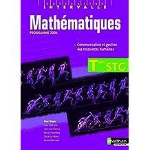 Mathématiques Terminale STG