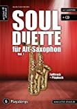 Soul Duette 1 - arrangiert für zwei Alt-Saxophone - mit CD [Noten / Sheetmusic] Komponist: FISCHER HANS JOERG
