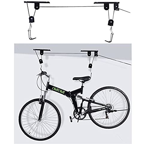 Fahrradlift, zur Deckenmontage Deckenlift Fahrrad Deckenhalterbis 25 kg belastbar