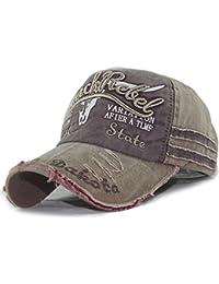 d89f40ca027f8 XRDSS Vintage Cotton Baseball Cap Unisex Distressed Snapback Trucker Hat