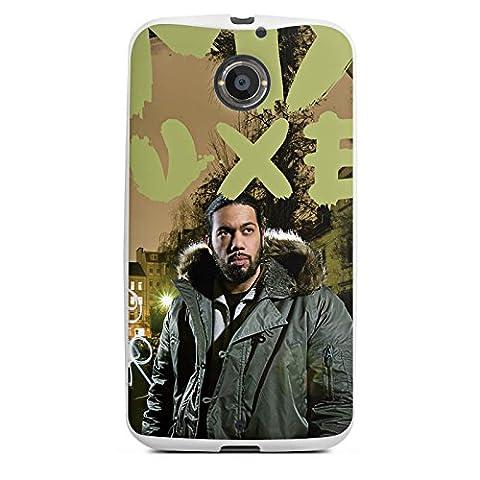 Motorola Moto X 2 Generation Silikon Case Hülle weiß - Samy Deluxe - Dis wo ich herkomm Cover Skin