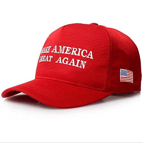CATOP American Flag Baseball Cap Unisex 2016 Campaign Cap Make America  Great Again - Donald Trump 057b8b96c43c