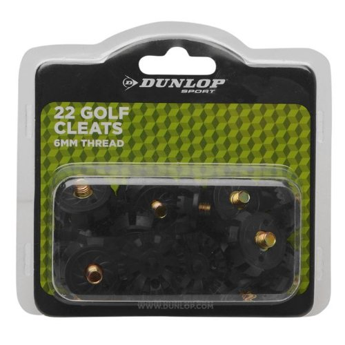 Dunlop Soft Spike Golf Cleat 22 Cleats 6mm Thread Golf Sports Game Accessory by Dunlop