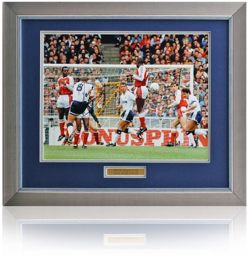 Paul-Gazza-Gascoigne-16×12-Hand-Signed-Tottenham-Hotspur-Photo
