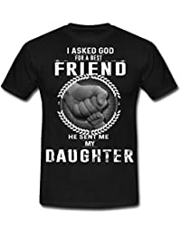 Spreadshirt Father's Day Daughter Best Friend Men's T-Shirt