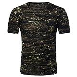 Camiseta Hombre,Longra ★ Camiseta de Camuflaje Hombre Militares Camisetas Deporte Ropa...