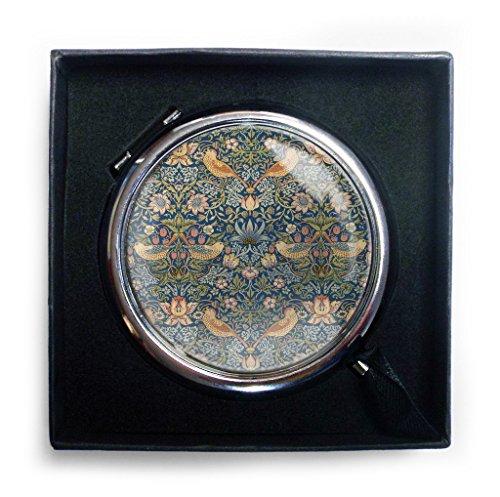 Custom Works William Morris WCMRWMO011 Taschenspiegel, Erdbeerdieb
