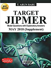Target JIPMER May 2018 for pgmee